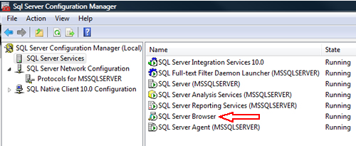 SQL SERVER - FIX : ERROR : (provider: Named Pipes Provider, error: 40 - Could not open a connection to SQL Server) (Microsoft SQL Server, Error: ) e40_8