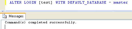 SQL SERVER - Fix : Error: 4064 - Cannot open user default database. Login failed. Login failed for user error4064_3