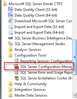 SQL SERVER - Dedicated Access Control for SQL Server Express Edition - An error occurred while obtaining the dedicated administrator connection (DAC) port. expressstart00