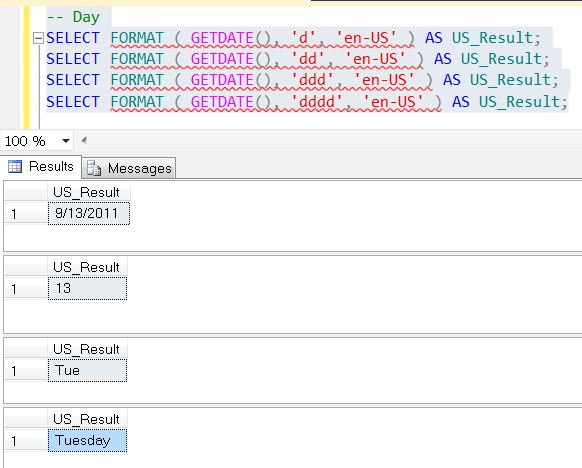 SQL SERVER - Denali - String Function - FORMAT() - A Quick Introduction format3