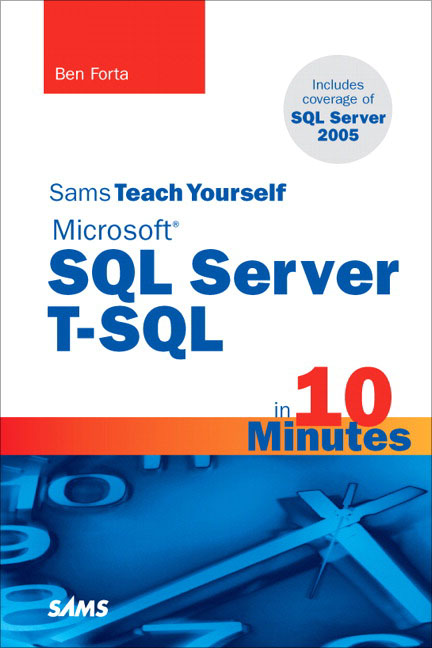 SQLAuthority News - Book Review - Sams Teach Yourself Microsoft SQL Server T-SQL in 10 Minutes fortabook