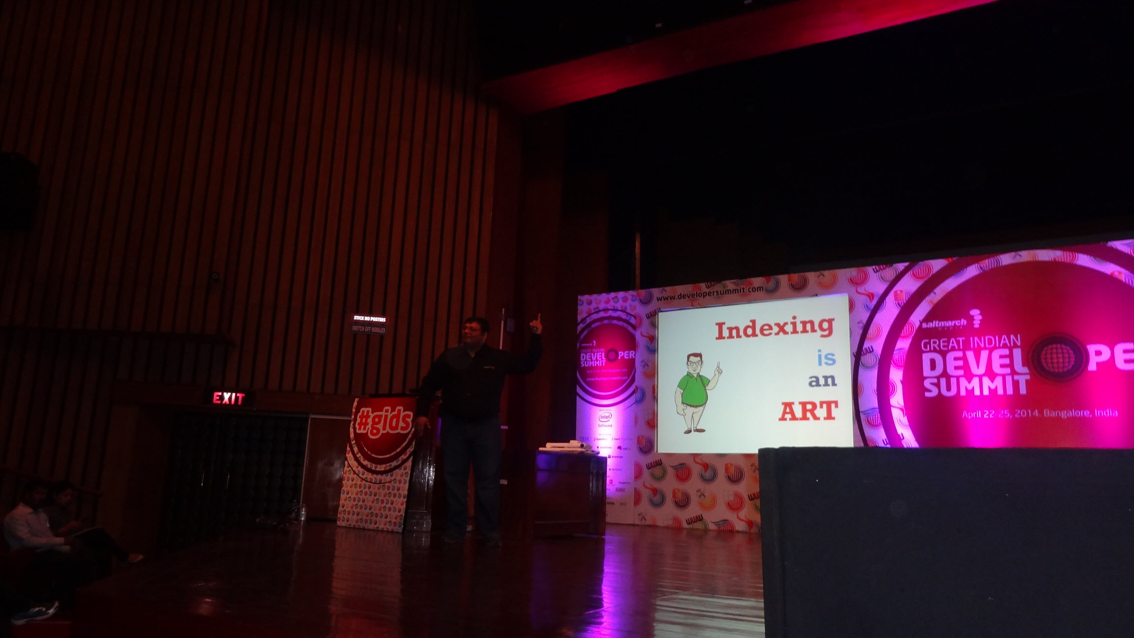 SQLAuthority News - Great Time Spent at Great Indian Developers Summit 2014 gids2014 (3)