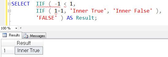 SQL SERVER - Denali - Logical Function - IIF() - A Quick Introduction iif4