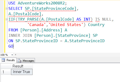 SQL SERVER - Denali - Logical Function - IIF() - A Quick Introduction iif5