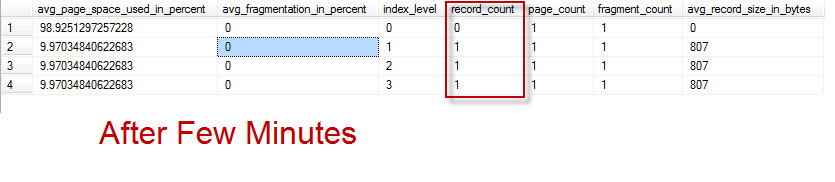 SQL SERVER - Index Levels and Delete Operations - Page Level Observation indexlevel1