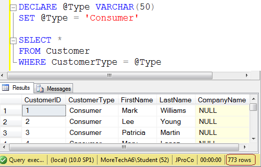 SQL SERVER - Introduction to Basics of a Query Hint - A Primer j2p-day3-image-2a