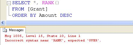 SQL SERVER - Ranking Functions - RANK( ), DENSE_RANK( ), and ROW_NUMBER( ) - Day 12 of 35 j2p_12_3
