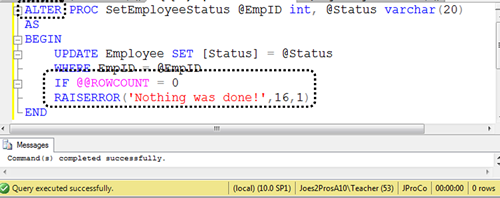 SQL SERVER - Tips from the SQL Joes 2 Pros Development Series - SQL Server Error Messages - Day 27 of 35 j2p_27_4