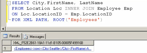 SQL SERVER - Tips from the SQL Joes 2 Pros Development Series - Using Root With Auto XML Mode - Day 32 of 35 j2p_32_7
