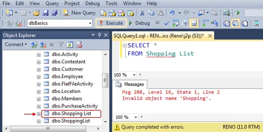 SQL SERVER - SQL Basics: Running SQL Code - Day 2 of 10 j2pbasics-2-3