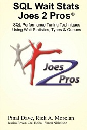 SQLAuthority News - SQLPASS - Today FREE 100 SQL Wait Stats Book Print Copy - Book Signing j2pwait_s