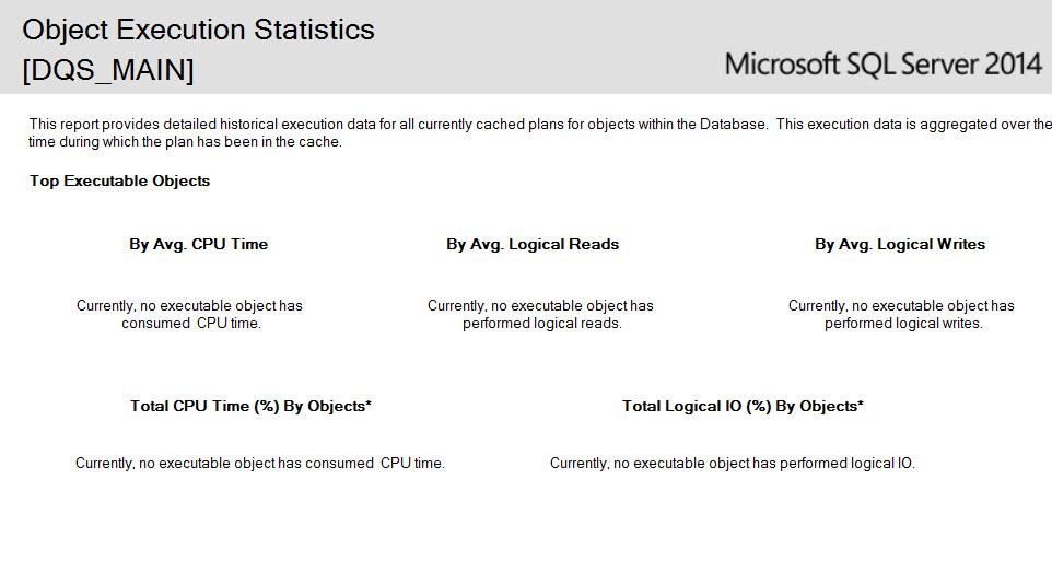 SQL SERVER - SSMS: Resource Locking and Object Execution Statistics Report lockingstats-5