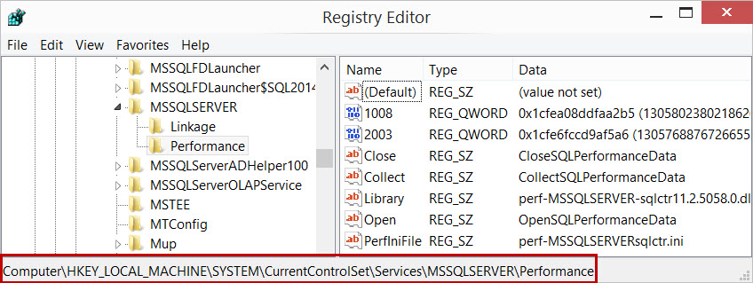 SQL SERVER - Performance Counter Missing: How to Get Them Back? lodctr-03
