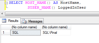 SQL SERVER - Find Hostname and Current Logged In User Name loginwin