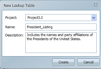 SQL SERVER - Introduction to expressor 3.4 Lookup Tables lookup_1