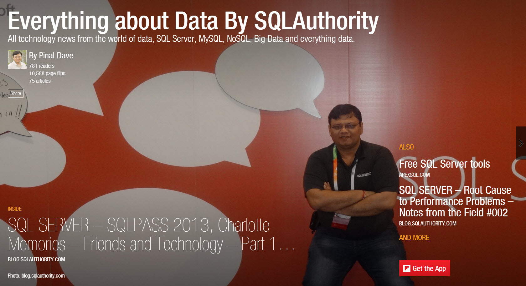SQL - Everything about Data Magazine - FREE to Subscribe magazine