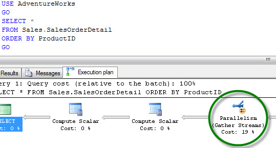 SQL SERVER - MAXDOP Settings to Limit Query to Run on Specific CPU maxdop1