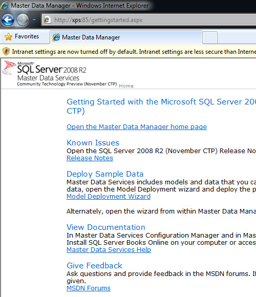 SQL SERVER - Simple Installation of Master Data Services (MDS) and Sample Packages - Very Easy MDS17