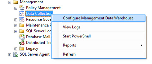 SQL SERVER - Configure Management Data Collection in Quick Steps - T-SQL Tuesday #005 mdw10