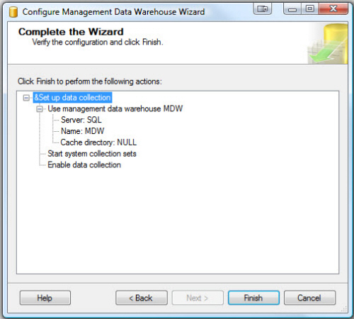 SQL SERVER - Configure Management Data Collection in Quick Steps - T-SQL Tuesday #005 mdw14