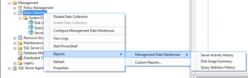 SQL SERVER - Configure Management Data Collection in Quick Steps - T-SQL Tuesday #005 mdw19