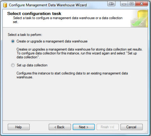 SQL SERVER - Configure Management Data Collection in Quick Steps - T-SQL Tuesday #005 mdw3