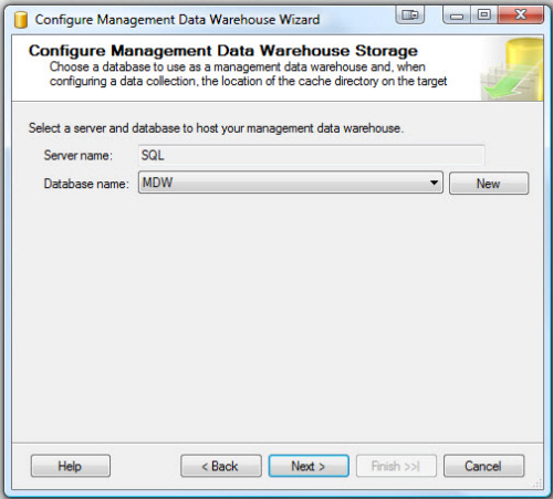 SQL SERVER - Configure Management Data Collection in Quick Steps - T-SQL Tuesday #005 mdw6