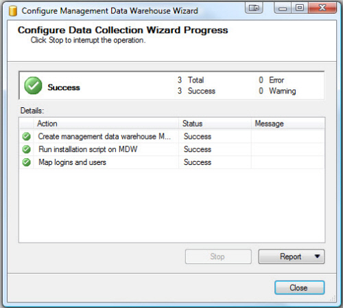 SQL SERVER - Configure Management Data Collection in Quick Steps - T-SQL Tuesday #005 mdw9