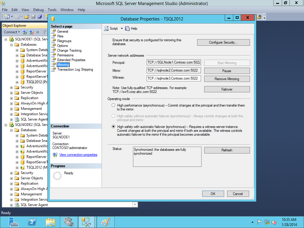 SQL SERVER - Migration of SQL Server 2012 Database Mirroring to AlwaysOn Availability Group image006