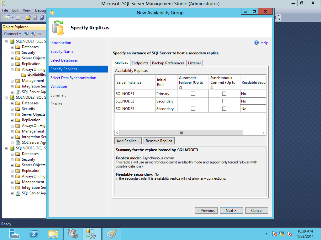 SQL SERVER - Migration of SQL Server 2012 Database Mirroring to AlwaysOn Availability Group image009