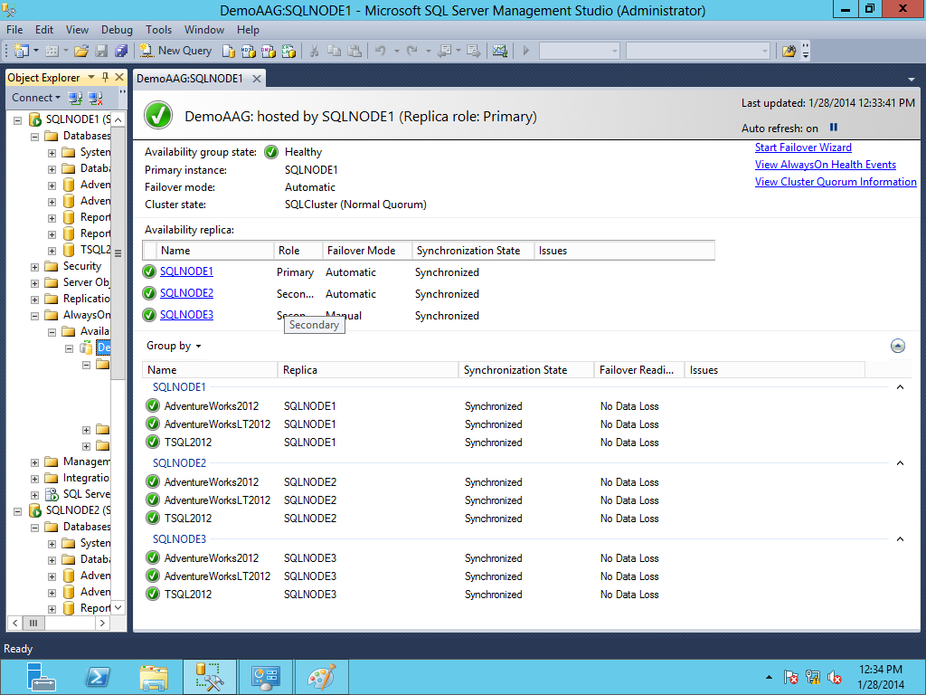 SQL SERVER - Migration of SQL Server 2012 Database Mirroring