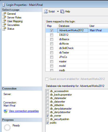 SQL SERVER - Solution - User Not Able to See Any User Created Object in Tables - Security and Permissions Issue missingtable4