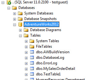 SQL SERVER - Solution - User Not Able to See Any User Created Object in Tables - Security and Permissions Issue missingtable6