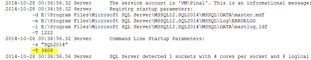 SQL SERVER - FIX - The database 'model' is marked RESTORING and is in a state that does not allow recovery to be run model-restoring-01