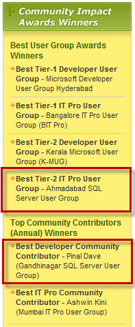 SQLAuthority News - MSDN Flash Mentions - TechNet Flash Mention - Top Community Contributors (Annual) Winner msdn1
