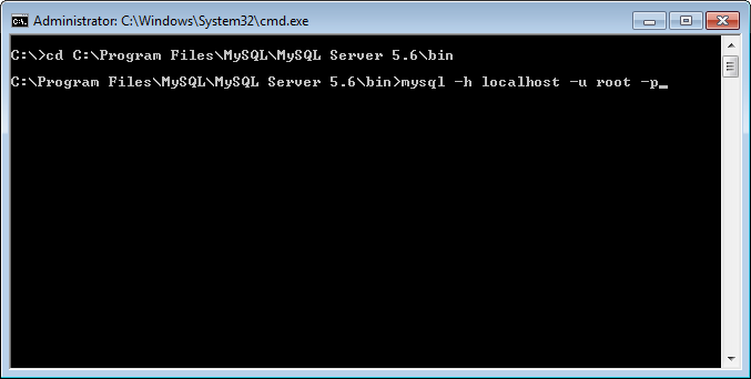 MySQL - How to Connect to MySQL Server on Command Prompt connect2