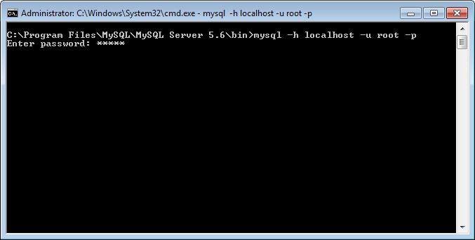 MySQL - How to Connect to MySQL Server on Command Prompt connect3
