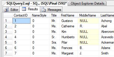 SQL SERVER - Maximizing View of SQL Server Management Studio - Full Screen - New Screen newtab2