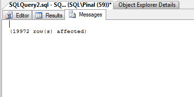 SQL SERVER - Maximizing View of SQL Server Management Studio - Full Screen - New Screen newtab3