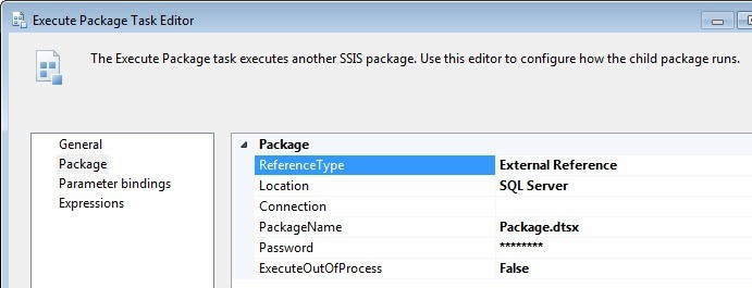 SQL SERVER - The Basics of the Execute Package Task - Notes from the Field #067 notd-66-3