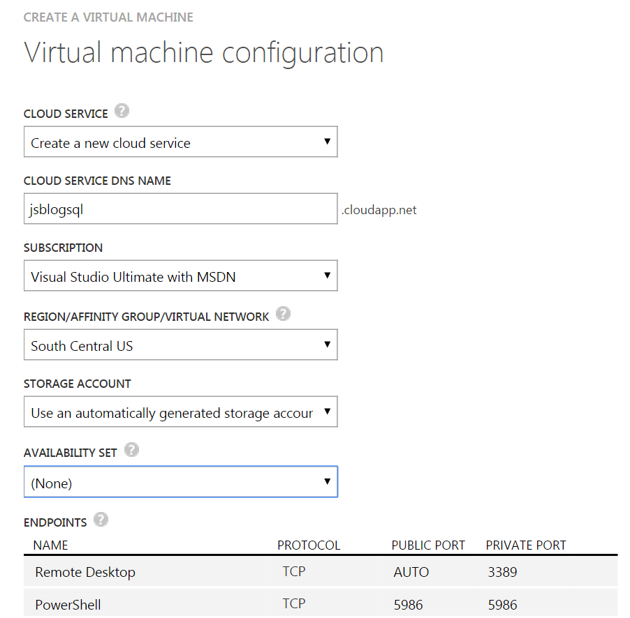 SQL SERVER - Proof of Concepts with Windows Azure - Notes from the Field #056 notes56-5