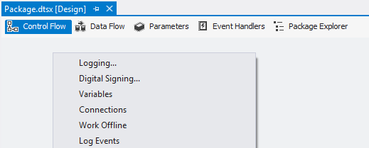 SQL SERVER - Using Package Configurations in SSIS 2012 and Beyond - Notes from the Field #079 notf-79-2