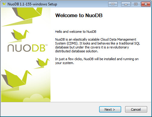 SQL - Step by Step Guide to Download and Install NuoDB - Getting Started with NuoDB 3