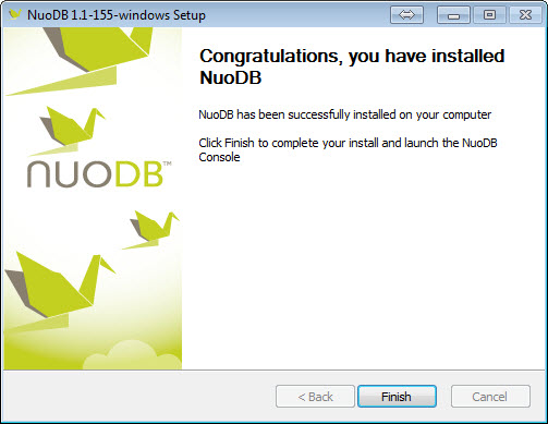 SQL - Step by Step Guide to Download and Install NuoDB - Getting Started with NuoDB 9