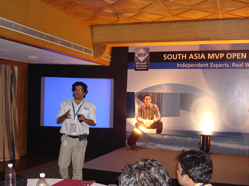 SQLAuthority News - Author Visit - South Asia MVP Open Day 2008 - Goa - Day 1 MVP Openday (12)