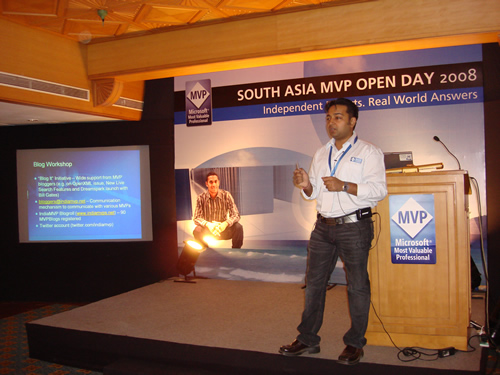 SQLAuthority News - Author Visit - South Asia MVP Open Day 2008 - Goa - Day 3 MVP Openday3 (2)