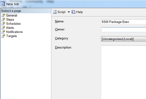 SQL SERVER - Running SSIS Package in Scheduled Job packagerun1