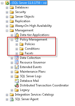 SQL SERVER - Identifying Guest User using Policy Based Management pbm1