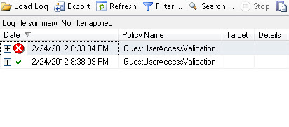 SQL SERVER - Identifying Guest User using Policy Based Management pbm11