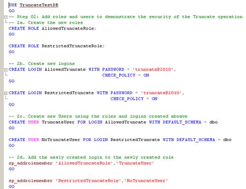 SQL SERVER - Securing TRUNCATE Permissions in SQL Server permissions1